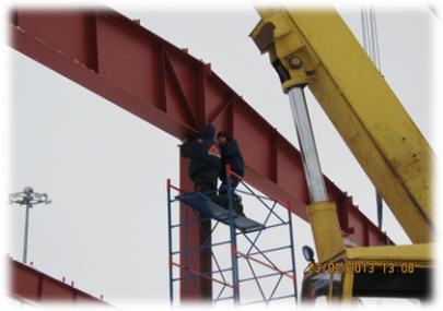 Новый этап 2010 год, общестроительные работы