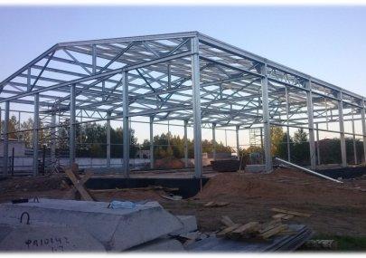 Здания из легких стальных конструкций (ЛСТК)