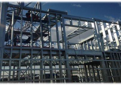Строительство котельной и здания АБК. 2015г.
