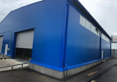 Строительство теплого склада базы «Колла» г. Санкт-Петербург 2016 год