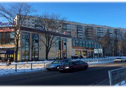 Торговый центр г. Санкт-Петербург. Надстройка второго этажа