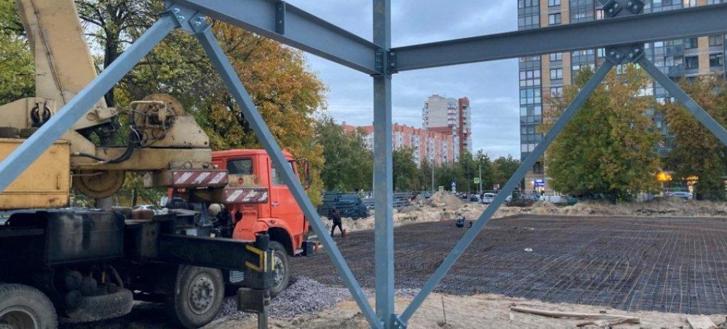Строительство медицинского комплекса на ул. Дыбенко в г. Санкт-Петербург