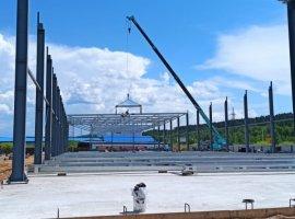 Строительство двух торговых комплексов в г. Чита